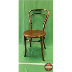 "Hoop Back Bentwood Chair (35""H x 16""W x 21""D)"