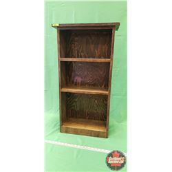 "Book Shelf (34""H x 18""W x 8""D)"