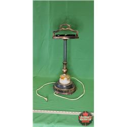 "Standing Ashtray / Electric Lighted (27""H)"