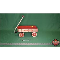 "Small Metal Toy Wagon (16""L)"