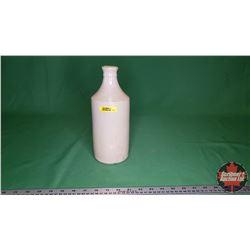"""Crock Bottle with Spout """"40 Govancroft 5 Glasgow""""  (10""""H)"""