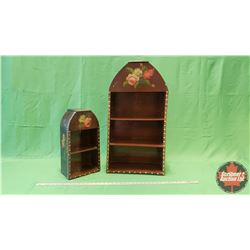 """Décor Shelving (2) (Large = 30""""H) (Small = 18""""H)"""