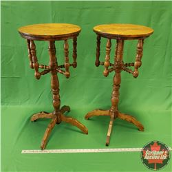 """2 Plant Stands (14""""Dia x 29""""H)"""