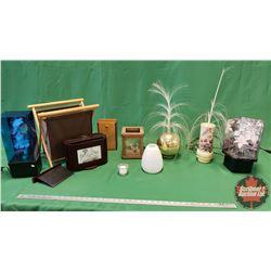 Home Décor - Variety : Fibre Optic Lamps, Table Top Photo Frame/Organizer, Tea Light Holder, etc.