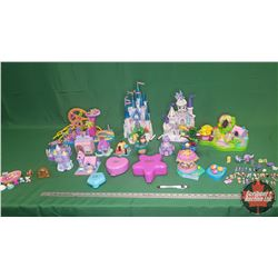 Box Lot : Polly Pocket Toy Collection !