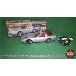 """Playmates 19"""" Super Corvette in Box"""