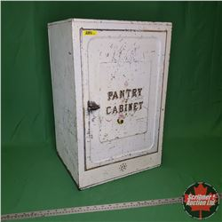 "Tin Counter Top Pantry Cabinet (24""H x 15""W x 12""D)"