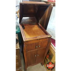 "Victrola Phonograph Cabinet ONLY (43""H x 18""W x 23""D)"