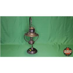 "Historically Correct Silver City New Mexico Brothel Oil Lamp (23""H)"
