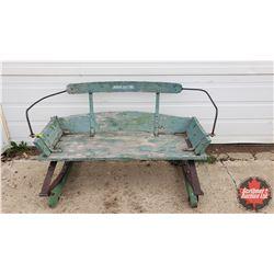 "John Deere Buckboard Seat (24""H x 45""W x 24""D)"