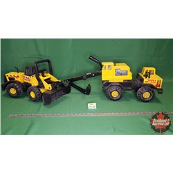 Tonka Toys (2): Excavator & Payloader