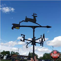 "John Deere Cast Iron Weather Vane (30""H) (No Mounting Base)"
