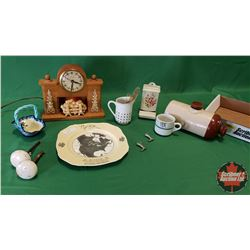 Antique Collector Combo - Tray Lot: Souvenir First Shipment of China ware to enter Canada via Hudson