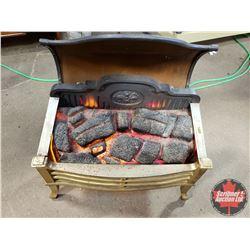 "Electric Fireplace / Heater (26""H x 22""W x 13""D)"
