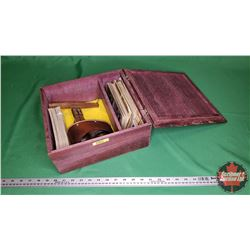 """Antique Stereoscope """"The Stereo-Graphoscope"""" (Patented Feb 1896 ) with Slides"""