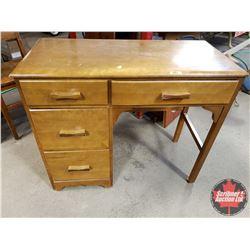 "Writing Desk - 4 Drawer (30""H x 36""W x 16""D)"