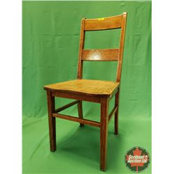 "Oak Chair (36""H)"