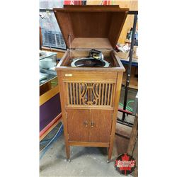 """Embassy Gramophone (44""""H x 18""""W x 20""""D) with Record"""