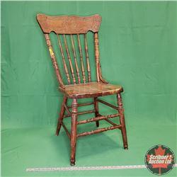 "Press Back Chair (36""H)"
