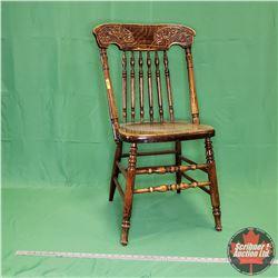 "Press Back Chair (35-1/2""H)"