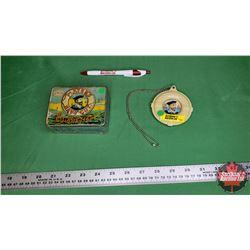 Players Cigarette Collector Duo: Cigarette Tin & Rare Key Saver