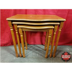 """Nesting Tables (Tallest Table: 21""""H x 23""""W x 14""""D)"""