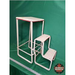 "Metal Kitchen Step Ladder/Stool (23"")"