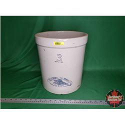 The Albert-Potteries Ltd. Redcliff Alta Canada Crock 3 Gallon (No Lid)