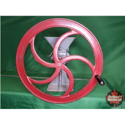 """Grinder (20""""Dia Wheel) Stamped """"Stover Mfg & Eng Co."""" """"Freeport ILL U.S.A."""""""