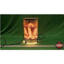 Vintage Motion Lamp : Old Mill Water Falls