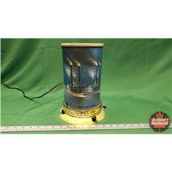 Vintage Motion Lamp : Historic Race of Robt. E. Lee & Natchez