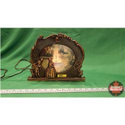 """Copper Case Motion Lamp (9""""H)"""