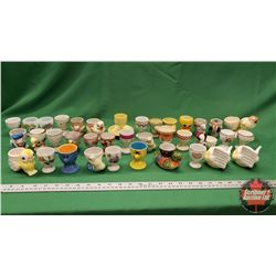 Tray Lot: Egg Cup Collection (Approx 37)