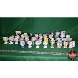 Tray Lot: Egg Cup Collection (Approx 42)