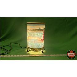 Vintage Motion Lamp : Niagara Falls