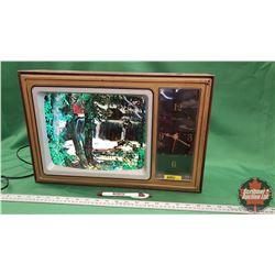 """Retro Lamp TV/Clock (12""""H x 19""""W x 5""""D)"""