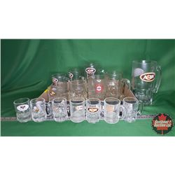 Tray Lot - A&W Mug Collection (16 Items Variety Sizes)