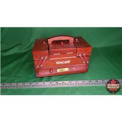 "Small Singer Folding Sewing Kit (5""H x 8""W x 5""D)"