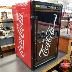"Coca-Cola Mini Fridge (33""H x 19-1/2""W x 21-1/2""D)"