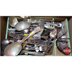Tray Lot - Variety of Silverware (Heavy)