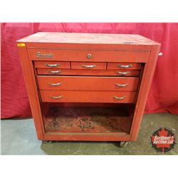 """Snap-On 6 Drawer Roll Cabinet Tool Box (36""""H x 34""""W x 18""""D)"""