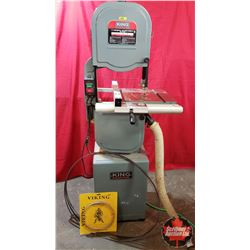 """King Industrial 14"""" (3 Speed) Band Saw (67""""H) Comes with 7 Extra Blades"""