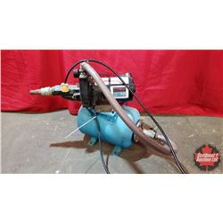 Deep or Shallow Well Pump with Pressure Tank (115Volt) 1/2HP