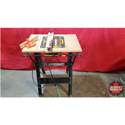 Router Table with 9 Amp Router Installed