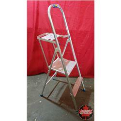 2 Step Aluminum Step Ladder