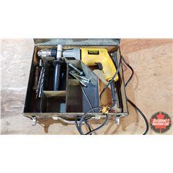 """Dewalt 1/2"""" Hammer Drill in Metal Case"""