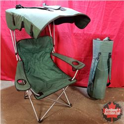 Pair of Folding Camp Chairs w/Carriers