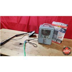 Utility 120Volt Heater Fan & Halogen Lamp