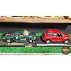 Die Cast 1:25 Scale Toys : F-150 Truck & PT Cruiser