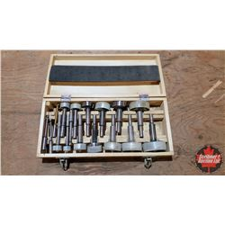 "Forstner Bit Set (17pcs) 1/4"" to 2-1/8"""